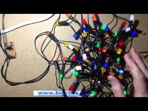 Mains voltage LED string power supply experimentation.