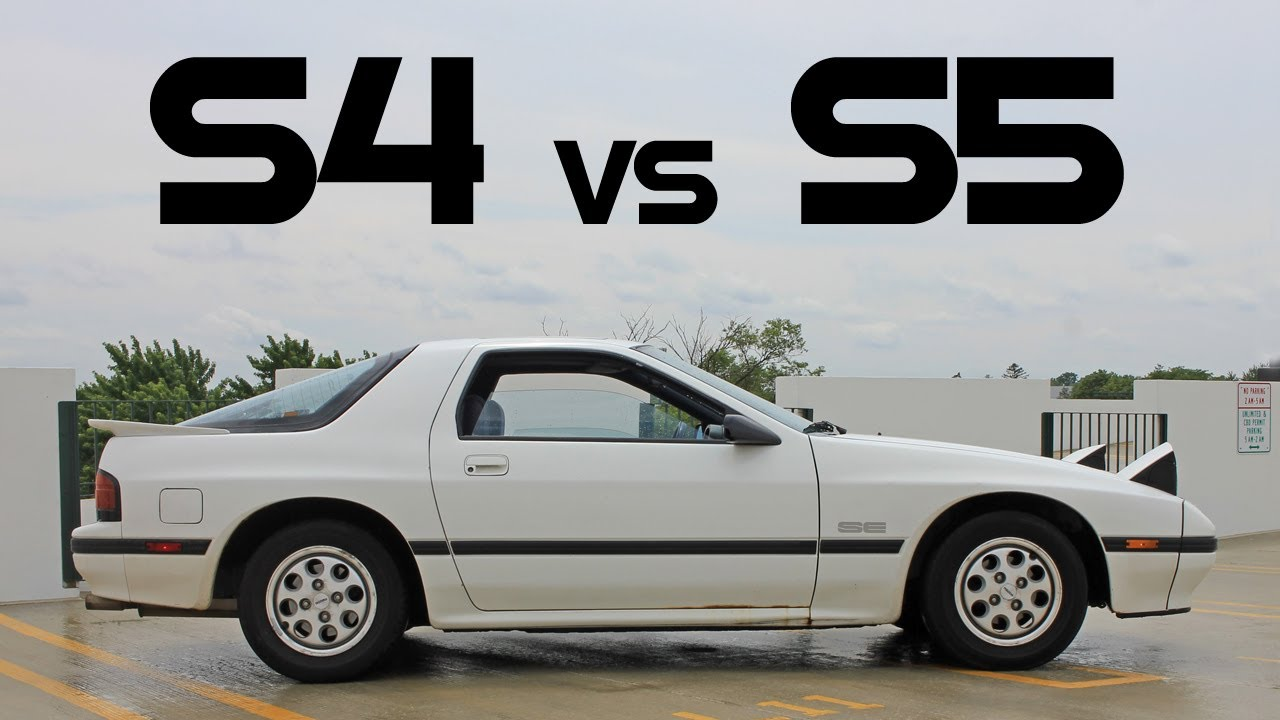 The Differences Between Series 4 And 5 Mazda Rx7