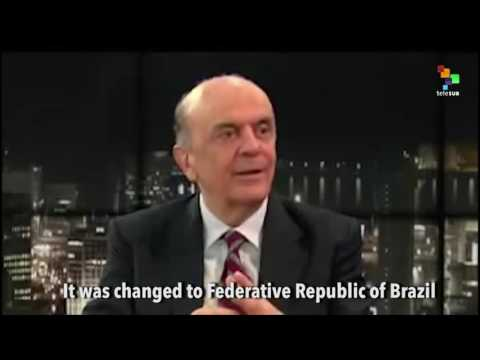 Brazil's Interim Foreign Minister Confused About His Country's Name?