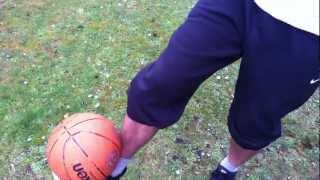 Fußballtrick around the world/ einmal um die Welt erlernen: ein Tutorial