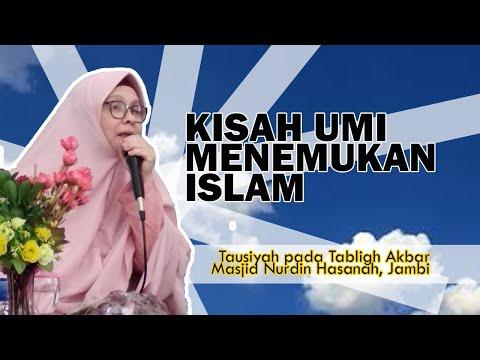 Umi Irena Handono: Kisah Menemukan Islam (Full di Masjid NH Jambi)