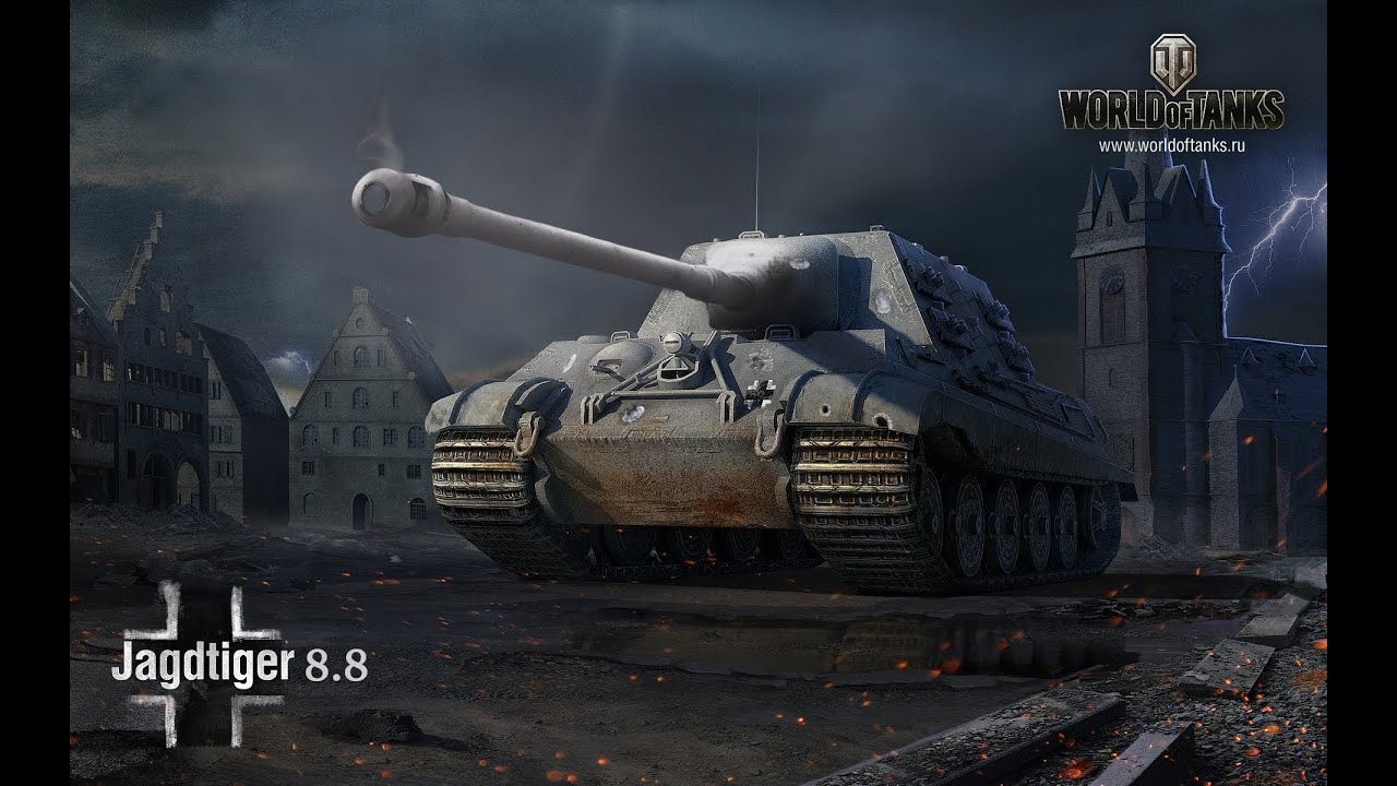 Jagdtiger 8.8 Buffed Review World of Tanks