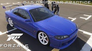 Xbox One | Forza Motorsport 5 | S15 Drift Car Practice 1080p