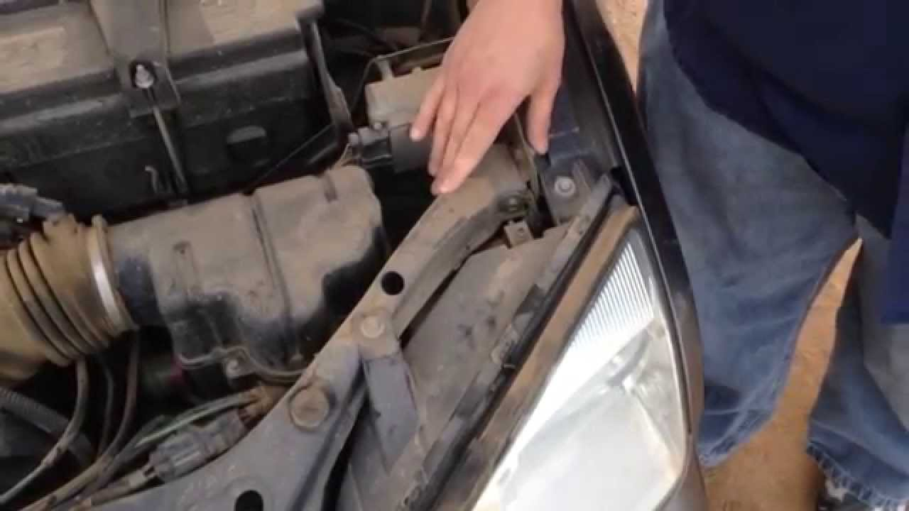 How To Change The Headlight In A Ford Focus Easy Way