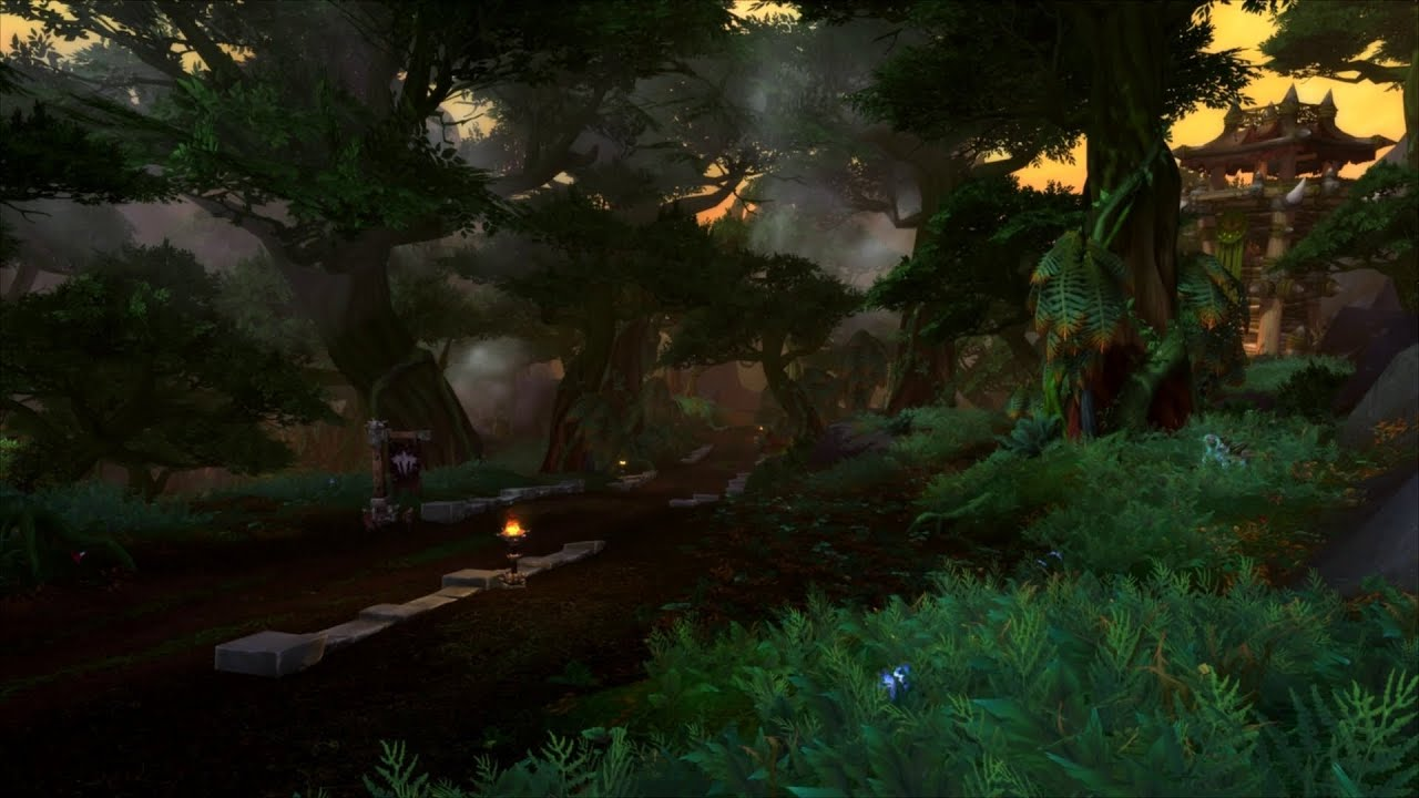 Jungle Wallpaper World Of Warcraft: WoD: Tanaan Jungle