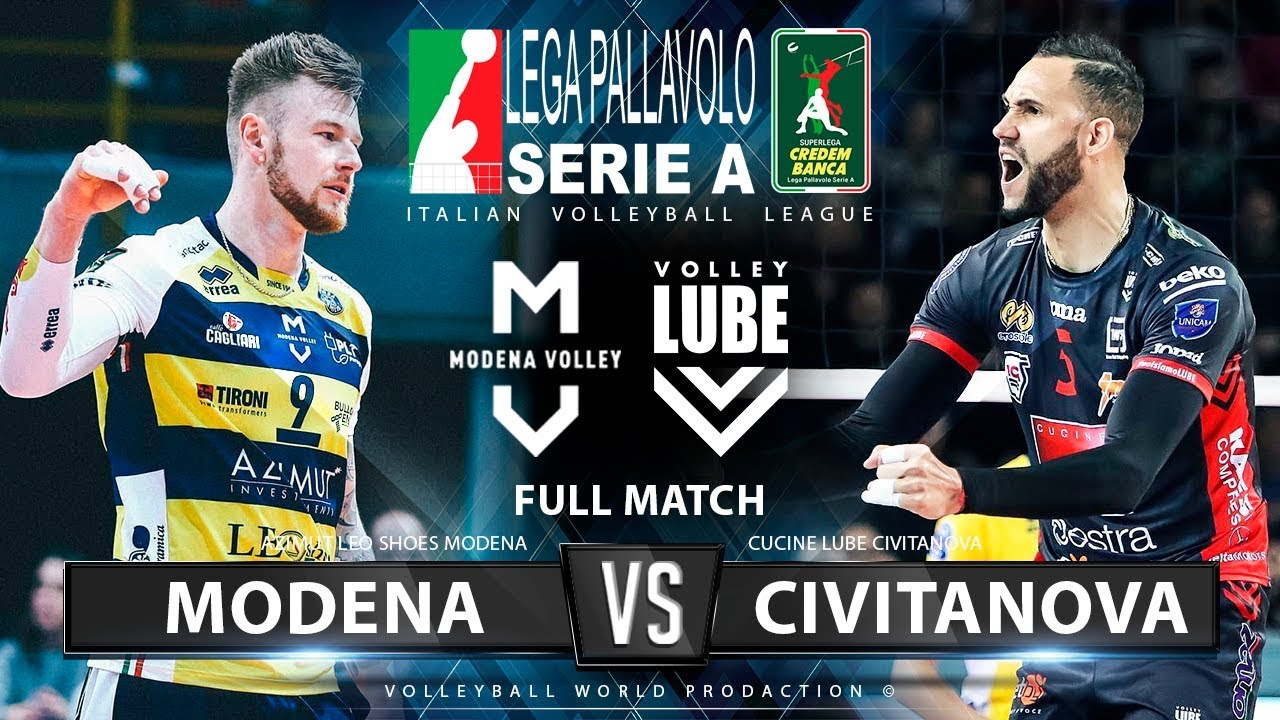 Download Modena vs. Lube Civitanova | Full Match | Italian Volleyball League 2019