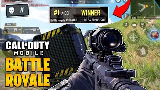 Call of Duty Mobile BATTLE ROYALE GAMEPLAY! (better than fortnite?!)