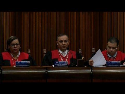 Washington place 8 juges vénézuéliens sur sa liste noire financière
