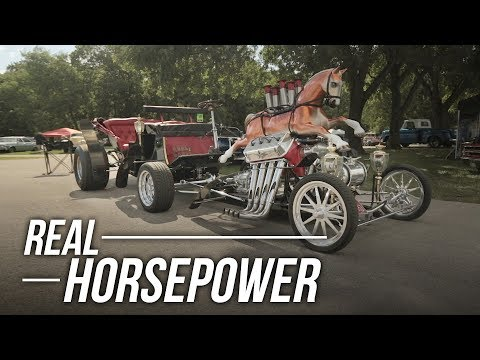 A Hot Rodded Horseless Carriage?!