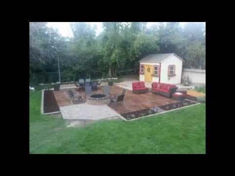 DIY Backyard Patio and Outdoor Kitchen Pad in Under 6 minutes