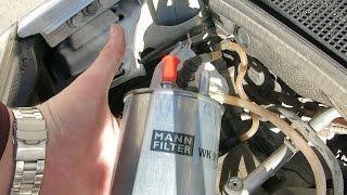 Замена топливного фильтра RENAULT KANGOO II 1.5 DCI . Fuel filter replacement RENAULT KANGOO II 1.5