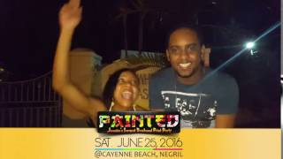 Jamaica's Largest Paint Party PAINTED June 25 2016 (Trinidad and Tobago Representing)