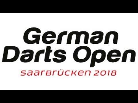 2018 German Darts Open Round 1 T.Jenkins vs Menzies