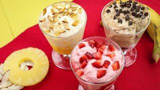 Flavoured Yogurt Recipe (Homemade Recipe) By SooperChef