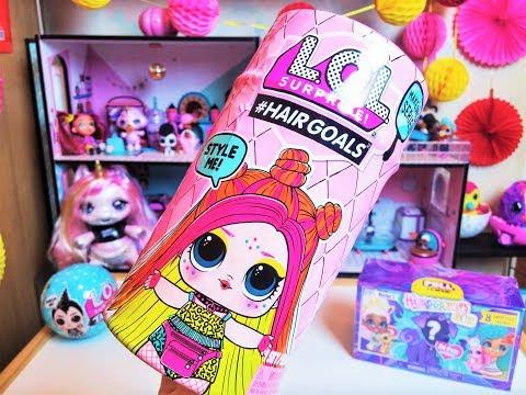 LOL Hairgoals 2 волна Куклы ЛОЛ с Волосами 5 серии, оригинал! Распаковка пупсика Лол сюрприз 2019!