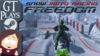 Snow Moto Racing Freedom || Great Snowmobile Racing Game