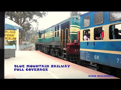 TRAIN TO OOTY FULL COVERAGE : INDIAN RAILWAY'S TOY TRAIN