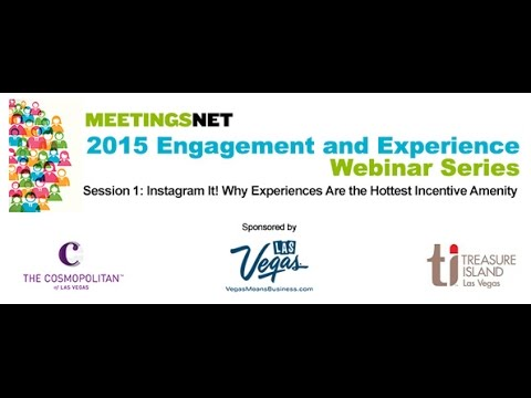 Webinar: Instragram It! Why Experiences Are the Hottest Incentive and Meeting Amenity