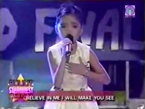 9-Year Old Charice sings 'To Love You More' on Bulilit StarQuest