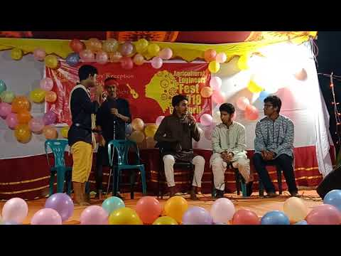 গোপালের মেধা কোটা || AET night 2018. Bangladesh Agricultural University