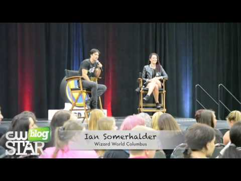 Ian Somerhalder Q&A at Wizard World Comic Con Columbus