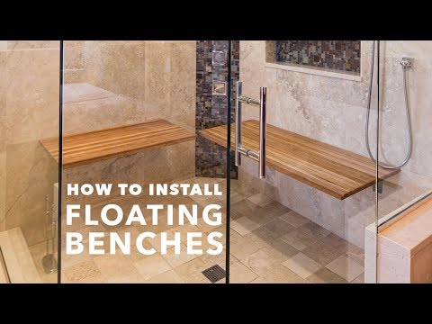 HOW TO INSTALL FLOATING BENCHES - Carry Capacities up to 500 Pounds!