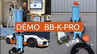 Présentation Sableuse Aérogommeuse à pressurisation automatique BB-K-PRO