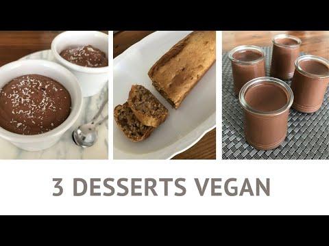 3-desserts-vegan---recettes-faciles