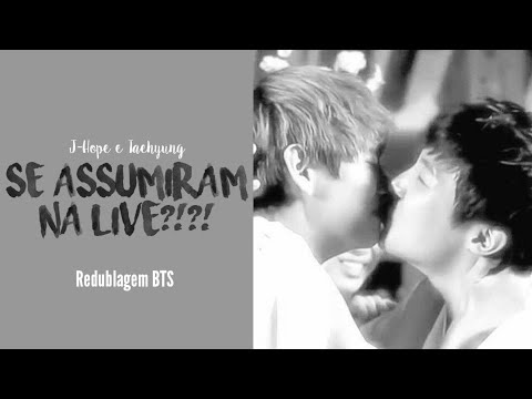 《REDUBLAGEM BTS》V e J-Hope se assumiram na LIVE???