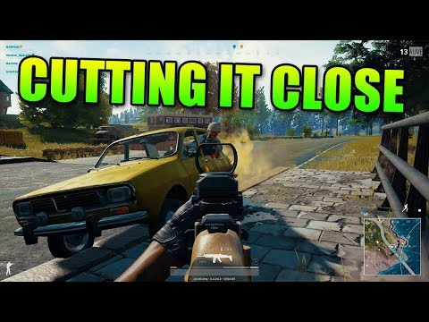 Cutting It Close | Battlegrounds Squad Up
