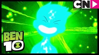Ben 10 | They Almost Get Crushed By Rocks | Half-Sies | Cartoon Network
