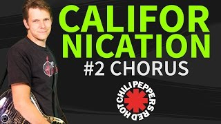 Guitar Lesson & TAB: Californication Red Hot Chili Peppers p2 - How To Play Chorus