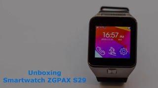 Smartwatch ZGPAX S29 Unboxing PT