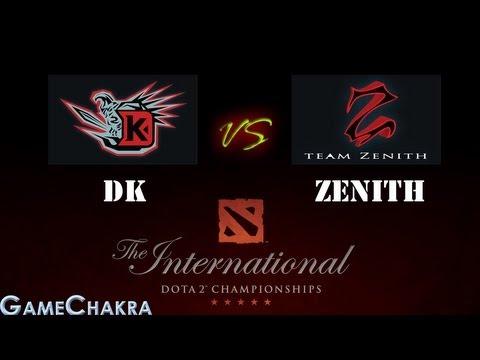 DK vs Zenith Highlights (Single Elimination LB - International Dota 2 Championship)