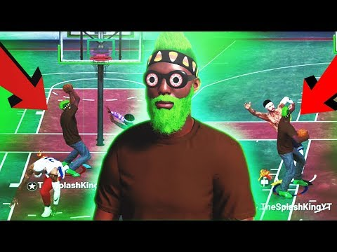 EXPOSING how OVERPOWERED post scorers are in Nba 2k19 park...