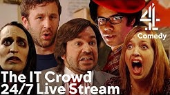 The IT Crowd Funniest Moments! | 24/7 Live Stream