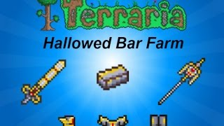 Terraria ios 1.2 | Easy way to get hallowed bars