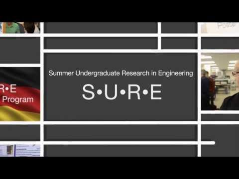 Summer Undergraduate Research at McGill Engineering (SURE)