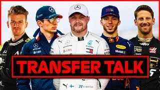 Ocon To Mercedes, Bottas To Red Bull?   Driver Transfer Talk