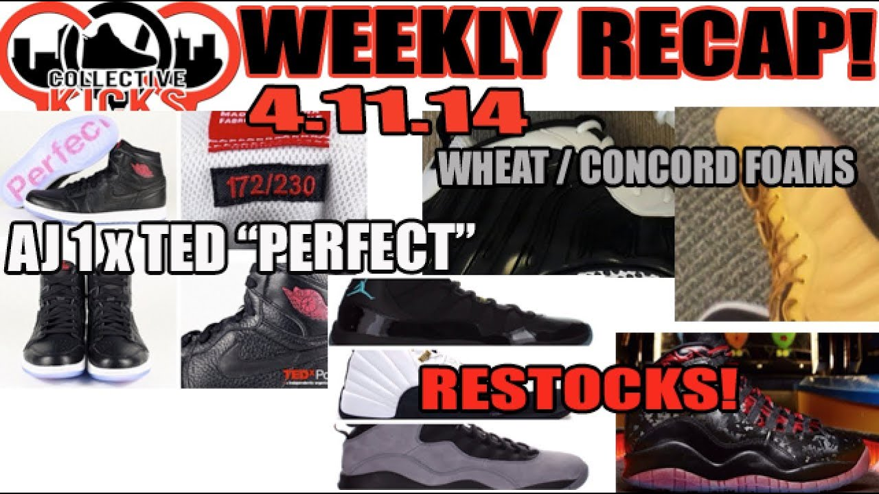68789571ac3a ... Jordan 12  Collectivekicks Weekly Recap 4.11.14 TED x AJ1