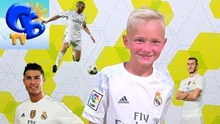 ⚽ Покупаем футбольную форму Реал Мадрид от Адидас Buy Adidas Real Madrid football uniform(Старший Брат меряет в магазине Адидас футбольную спортивную форму Сборной Германии и Сборной Испании,..., 2016-07-18T05:49:04.000Z)