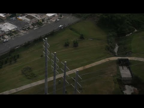 Raw: Puerto Rico Power Lines Inspected