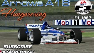 [F1C] Danka Arrows Yamaha A18 @ Hungaroring with Damon Hill