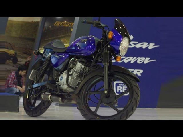 Bajaj Boxer Cafe Racer 150 Unveiled In Turkey