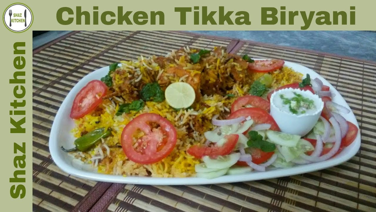 Chicken tikka biryani recipe in urdu hindi how to cook for Chicken biryani at home