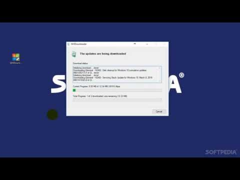 WHDownloader Windows Update Manager Explained: Usage, Video and Download (Softpedia App Rundown #84)