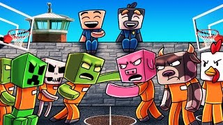Minecraft | Prison Life - RIOT BREAKS OUT IN YARD! (Jail Break in Minecraft) #5