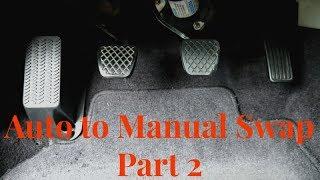 Хонда автоматичного на ручний підкачування (Частина 2)