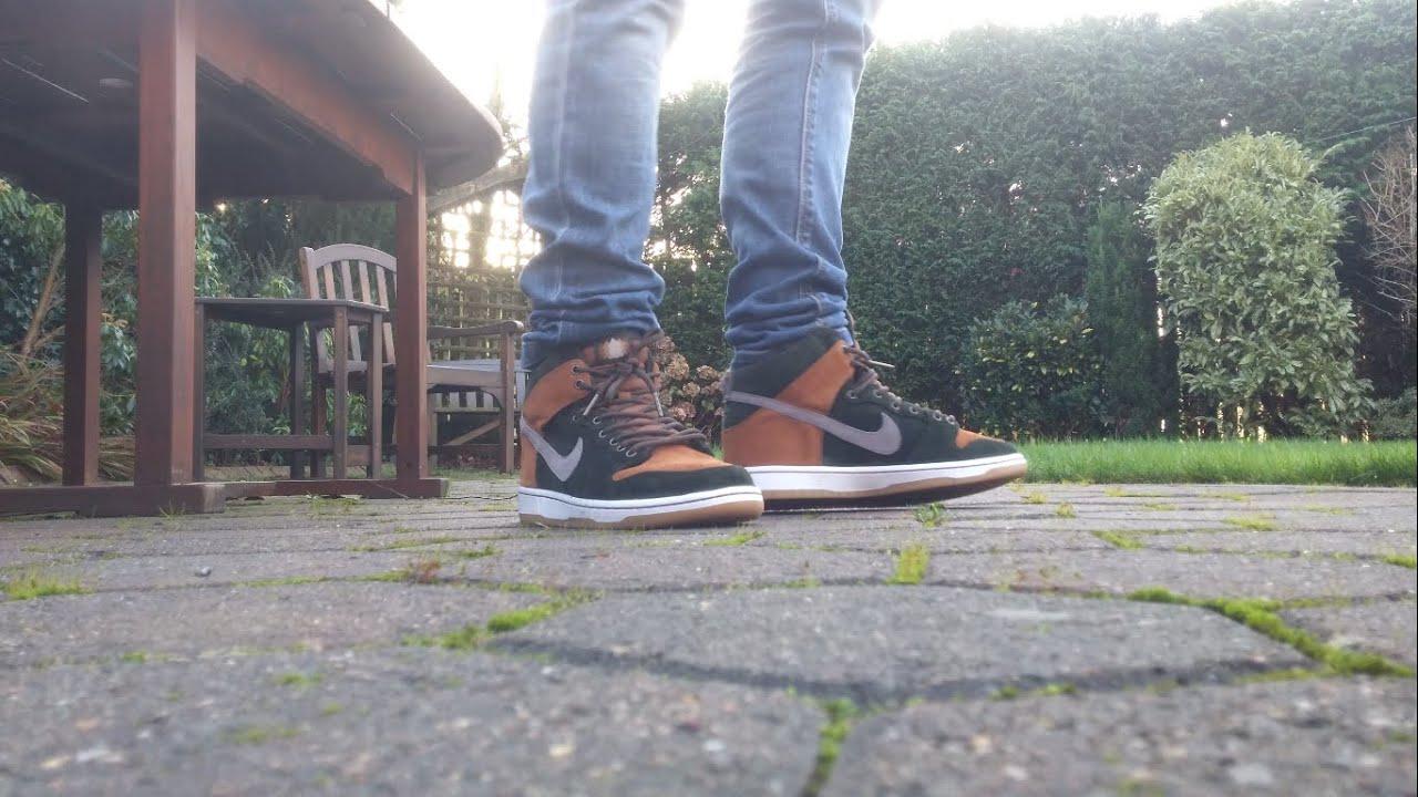 the latest 4adb0 c66dc Nike SB X HomeGrown Dunk High | On-Feet | 4K | JT Williams