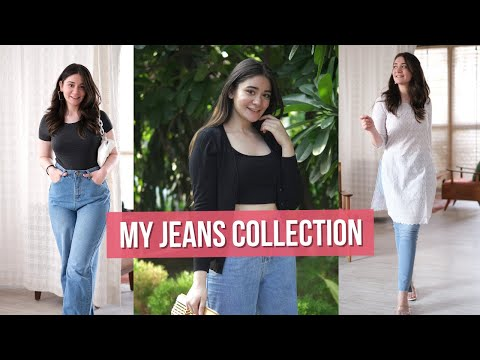 My Jeans Collection | Jeans For Pear Shaped Body Type
